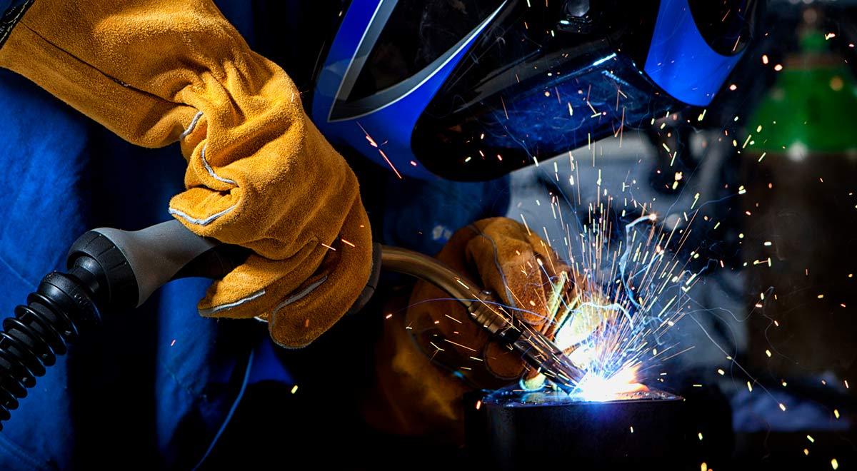 Gas bottles for welding